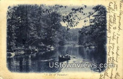 A Bit of Paradise - Jaffrey, New Hampshire NH Postcard