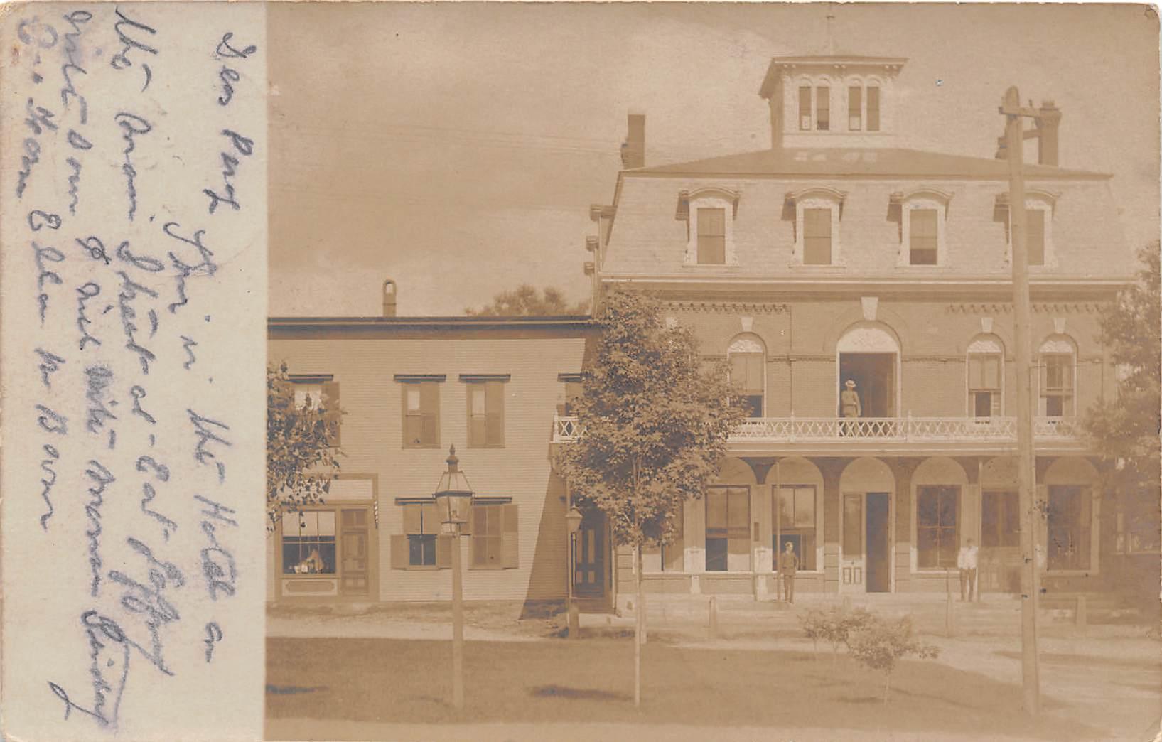 Building - Jaffrey, New Hampshire NH Postcard