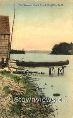 The Narrows, Great Pond - Kingston, New Hampshire NH Postcard