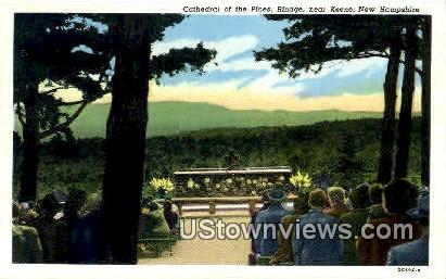 Cathedral of the Pines - Keene, New Hampshire NH Postcard