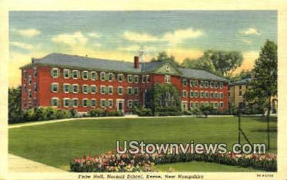 Fiske Hall, Normal School - Keene, New Hampshire NH Postcard