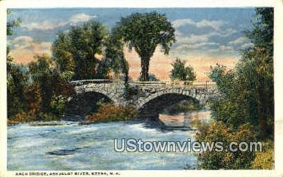 Arch Bridge - Keene, New Hampshire NH Postcard