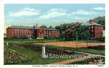 Keene Teachers College - New Hampshire NH Postcard