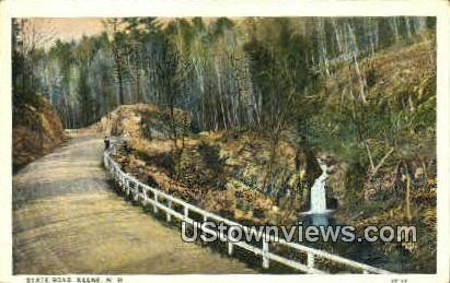 State Road - Keene, New Hampshire NH Postcard