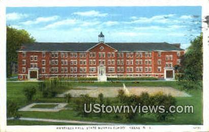 Huntress Hall - Keene, New Hampshire NH Postcard