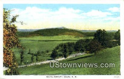 Keene Airport - New Hampshire NH Postcard