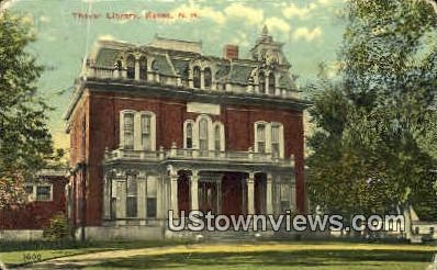 Thayer Library - Keene, New Hampshire NH Postcard