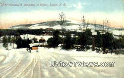 Monadnock Mountain - Keene, New Hampshire NH Postcard