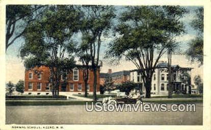 Normal School - Keene, New Hampshire NH Postcard
