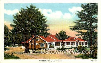 Country Club - Keene, New Hampshire NH Postcard