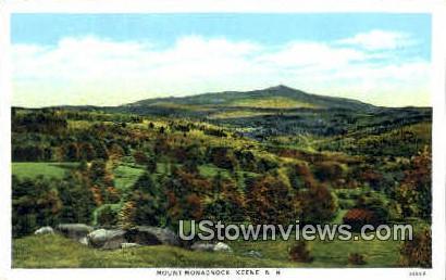 Mount Monadnock - Keene, New Hampshire NH Postcard
