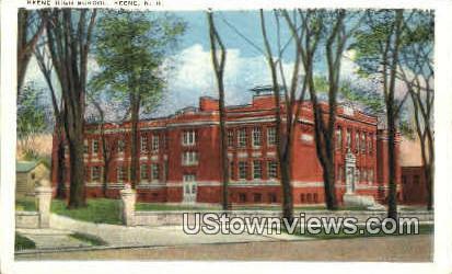 Keene High School - New Hampshire NH Postcard