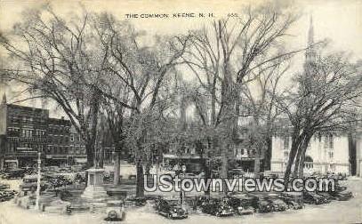 The Common - Keene, New Hampshire NH Postcard
