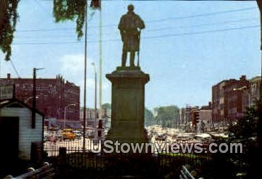 Central Square - Keene, New Hampshire NH Postcard