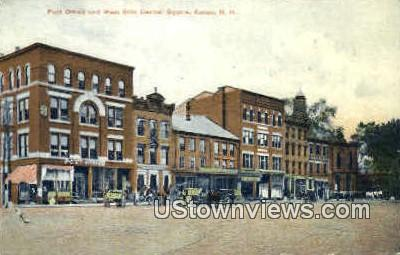 Post Office - Keene, New Hampshire NH Postcard