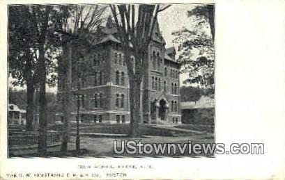 High School - Keene, New Hampshire NH Postcard