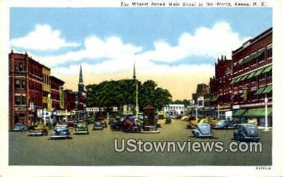 Main St. - Keene, New Hampshire NH Postcard
