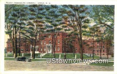 Elliot Community Hospital - Keene, New Hampshire NH Postcard
