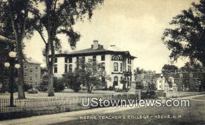 Keene Teacher's College - New Hampshire NH Postcard