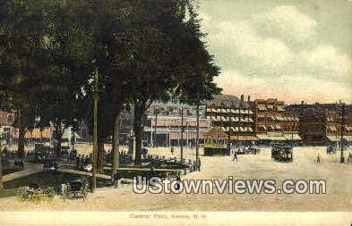 Central Park - Keene, New Hampshire NH Postcard
