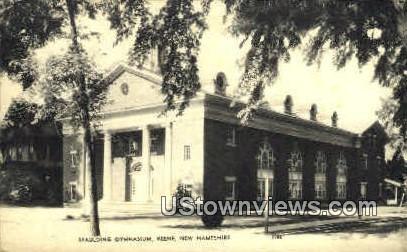 Spaulding Gymnasium - Keene, New Hampshire NH Postcard