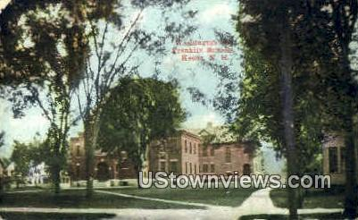 Franklin Schools - Keene, New Hampshire NH Postcard