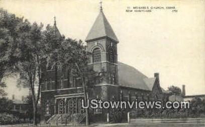 St. Bernard's Church - Keene, New Hampshire NH Postcard