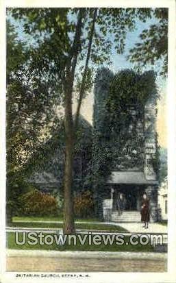 Unitarian Church - Keene, New Hampshire NH Postcard