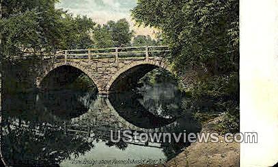 Stone Bridge - Keene, New Hampshire NH Postcard