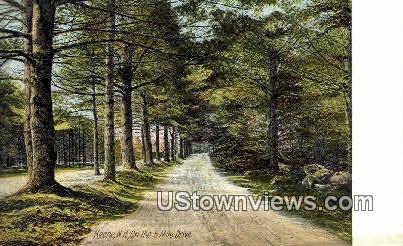 Five Mile Drive - Keene, New Hampshire NH Postcard