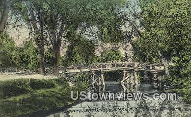 Lovers Lane Bridge - Keene, New Hampshire NH Postcard