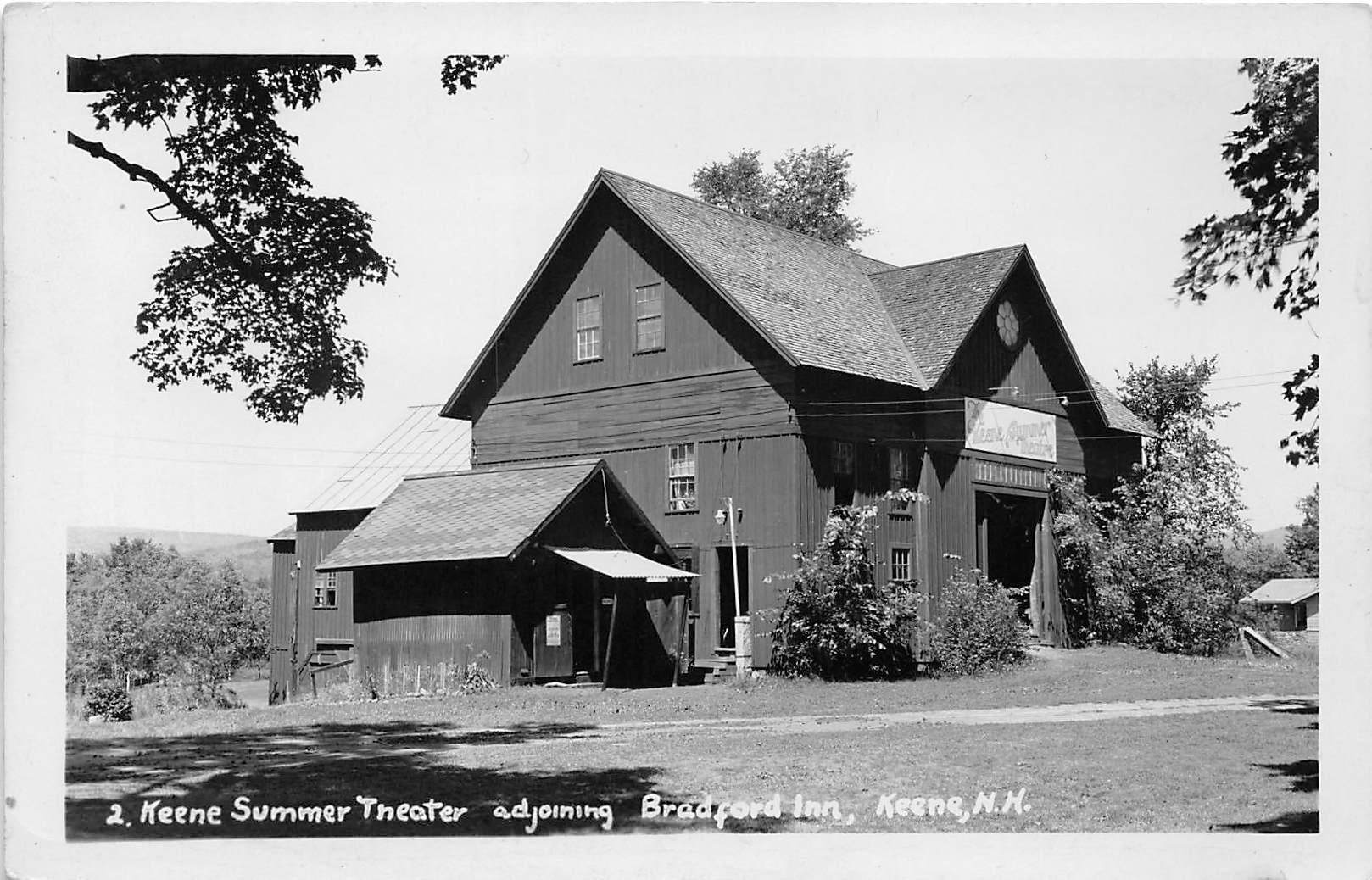 Keene Summer Theaer - New Hampshire NH Postcard