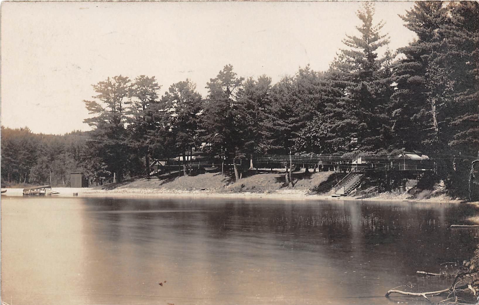 Lake View - Keene, New Hampshire NH Postcard