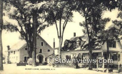 Morse's Lodge - Lancaster, New Hampshire NH Postcard