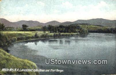 Connecticut River - Lancaster, New Hampshire NH Postcard