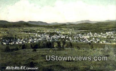 Lancaster, NH, New Hampshire Postcard