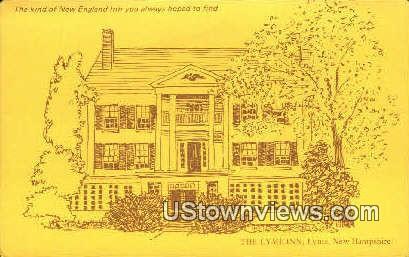 The Lyme Inn - New Hampshire NH Postcard