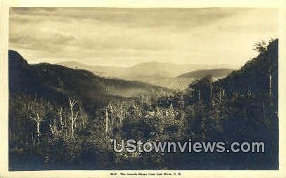 The Osceola Range - Lost River, New Hampshire NH Postcard
