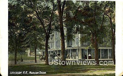 Mansion House - Lancaster, New Hampshire NH Postcard