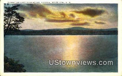 Lake Winnisquam - Laconia, New Hampshire NH Postcard