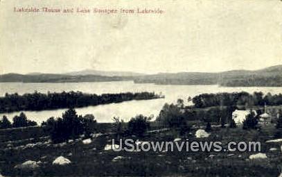 Lakeside House - Lake Sunapee, New Hampshire NH Postcard