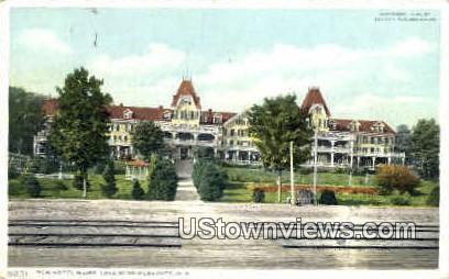 Hotel Weirs - Lake Winnipesaukee, New Hampshire NH Postcard