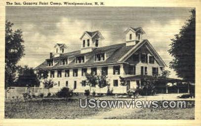 The Inn, Geneva Point Camp - Lake Winnipesaukee, New Hampshire NH Postcard
