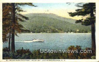 Mt. Major - Lake Winnipesaukee, New Hampshire NH Postcard