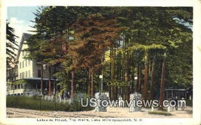 Lakeside House - Lake Winnipesaukee, New Hampshire NH Postcard