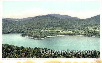 Great Asquam Lake - Lake Winnipesaukee, New Hampshire NH Postcard
