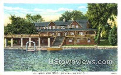 The Casino - Lake Winnipesaukee, New Hampshire NH Postcard