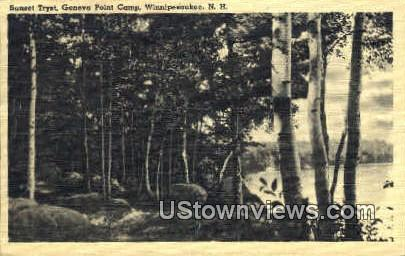 Geneva Point Camp - Lake Winnipesaukee, New Hampshire NH Postcard