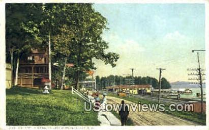 St. - Lake Winnipesaukee, New Hampshire NH Postcard