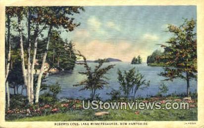 Roberts Cove - Lake Winnipesaukee, New Hampshire NH Postcard